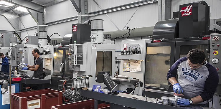 HAAS CNC Machining Centres