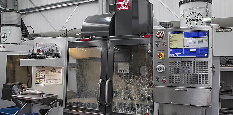 HAAS VF2-SS with filter mist